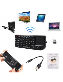 2.4G Mini Wireless Keyboard Mouse Touchpad for PC Android Smart TV BOX