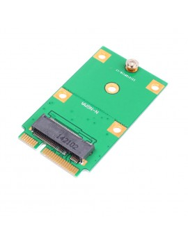 Replacement M.2 B Key NGFF SSD to mSATA Mini PCI-E Adapter Card Laptop Converter