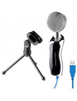 USB Professional Condenser Microphone Mic Studio Audio Sound Recording + Stand