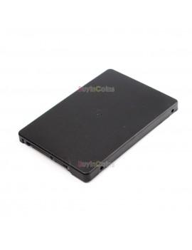 B+M key socket 2 M.2 NGFF (SATA) SSD to 2.5 SATA adapter card with case fast