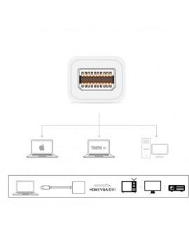 Mini Display Port DP to HDMI VGA DVI BLACK for Microsoft Surface pro 1 2 3 4