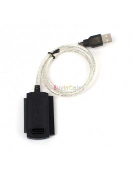 USB 2.0 to IDE SATA 2.5 3.5 Hard Drive Converter Cable