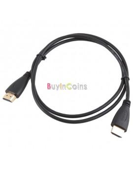 3Ft 1m HDMI V1.4 AV Cable High Speed 3D Full HD 1080P for Xbox DVD HDTV