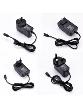 3A 5V Micro USB AC Adapter DC Wall Power Supply Charger for Raspberry Pi /Switch