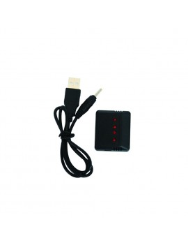 4 in 1 3.7V Lipo Battery Adapter Charger USB Interface With USB Cable for Hubsan H107D H107C X4 Wltoys syma x5c UDI