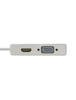 5 in 1 Type C To USB 3.1 HDMI VGA OTG Hub Adapter Converter Cable For Laptop Apple Macbook Google Chromebook Pixel