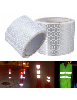100cmx5cm Car Reflective Strip Stickers Warning Strip-style Decoration Film Safe Motorcycle Baby Car Reflect Safety