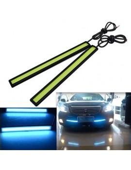 1Pcs 17CM Car COB LED Lights DRL Fog Driving Lamp Waterproof DC12V