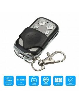 433MHz Universal Cloning Door Remote Control Key Compatible with Garage Door Openers
