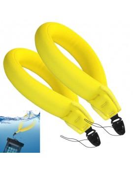 2pcs Waterproof Camera Float Strap Universal Floating Wristband/Hand Grip Lanyard for Mobile Phone / GoPro / Nikon / Canon / Sony / Pentax / Panasonic Camcorders