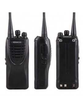 2pcs Kenwood TK-3307 16CH UHF 2 Way Radio Walkie Talkie Transceiver Rechargeable