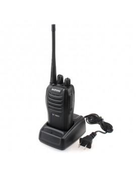 BaoFeng BF-666S 5W 16-Channel 400-470MHz Handheld Walkie Talkie Interphone Black