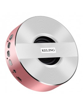 KELING A5 Wireless V4.0 1000mAh Portable Subwoofer - Pink