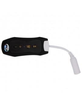 4GB Waterproof Rectangle MP3 Player Black