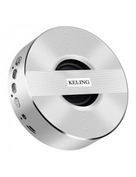 KELING A5 Wireless V4.0 1000mAh Portable Subwoofer - Silver
