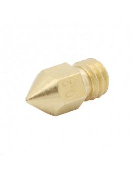 0.2mm 3D Printer Extruder Brass Nozzle for MK8 Makerbot 1.75mm Filament